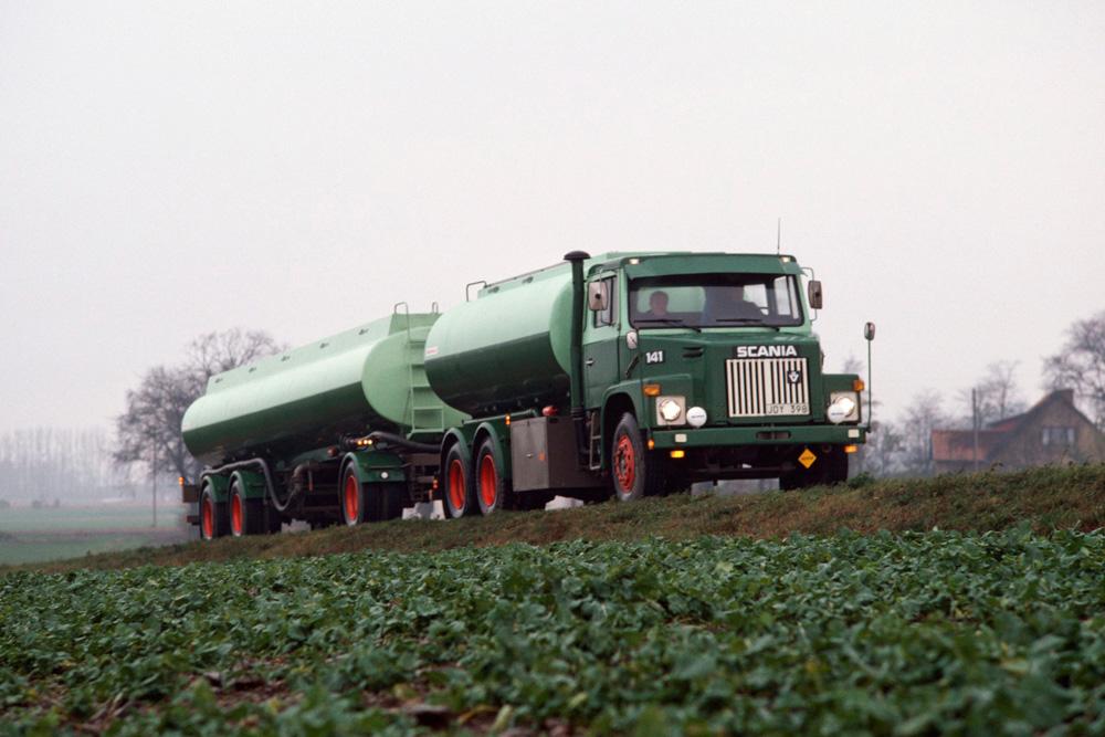 Бензовоз Scania LS141, 1976