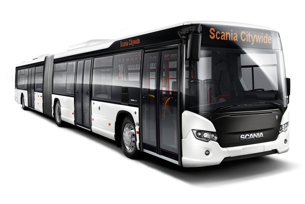 Модульный автобус Scania Citywide LFA, 2012