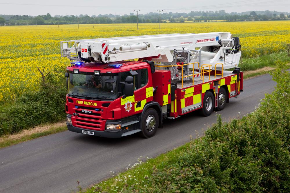 Пожарная машина Scania P 310 6x2x4, 2010