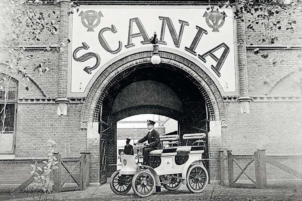 Завод Scania, Мальмо 1900