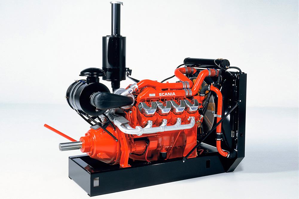 Ирригационная установка на базе промышленного 14-литрового двигателя Scania Scania V8, 2000
