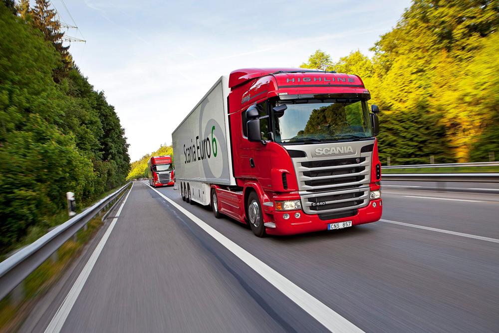 Устремленные в будущее магистральные грузовики Scania G 440 4x2 Highline и Scania R 480 4x2 Topline, Euro 6