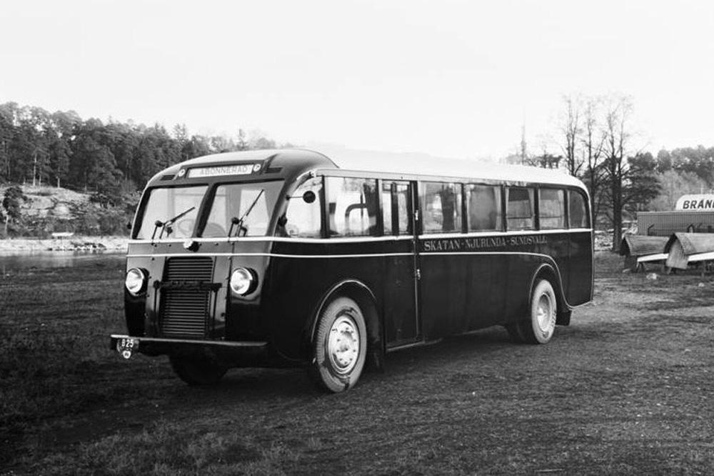 Автобус Scania-Vabis, 1935