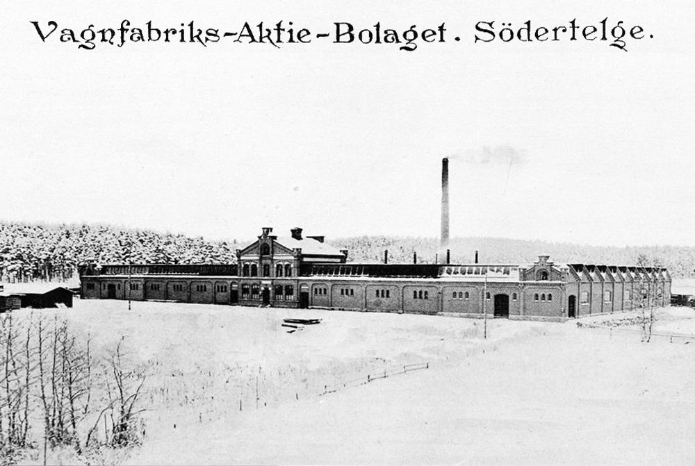 Завод VABIS, Сёдертелье 1895
