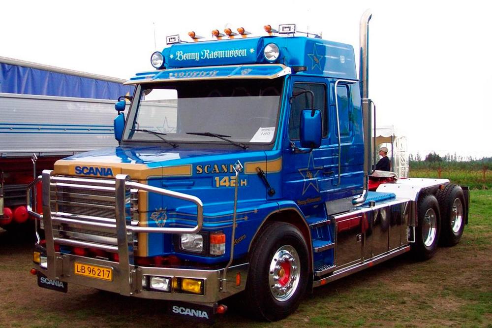 Седельный тягач Scania T142H, 1980