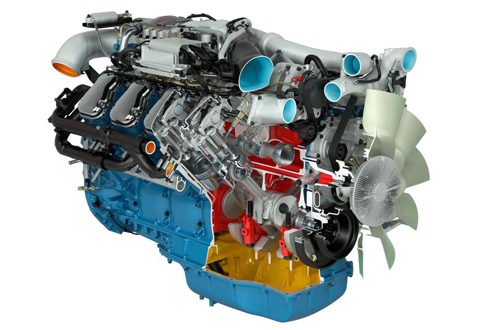 Двигатель Scania V8 730 л.с., 2010