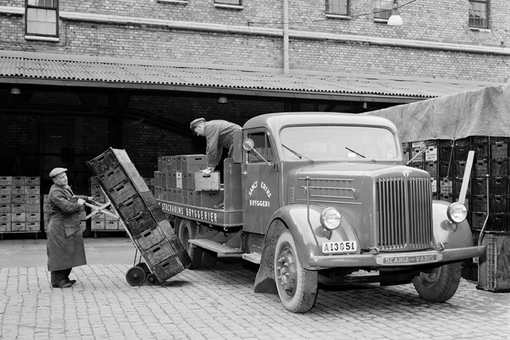 Грузовик Scania-Vabis L43 9,5 тонн,1943