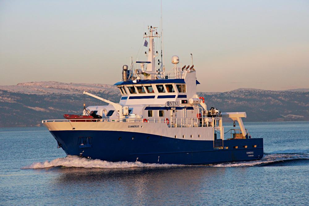 Исследовательское судно, оборудованное тремя судовыми двигателями Scania V8, Норвегия 2008