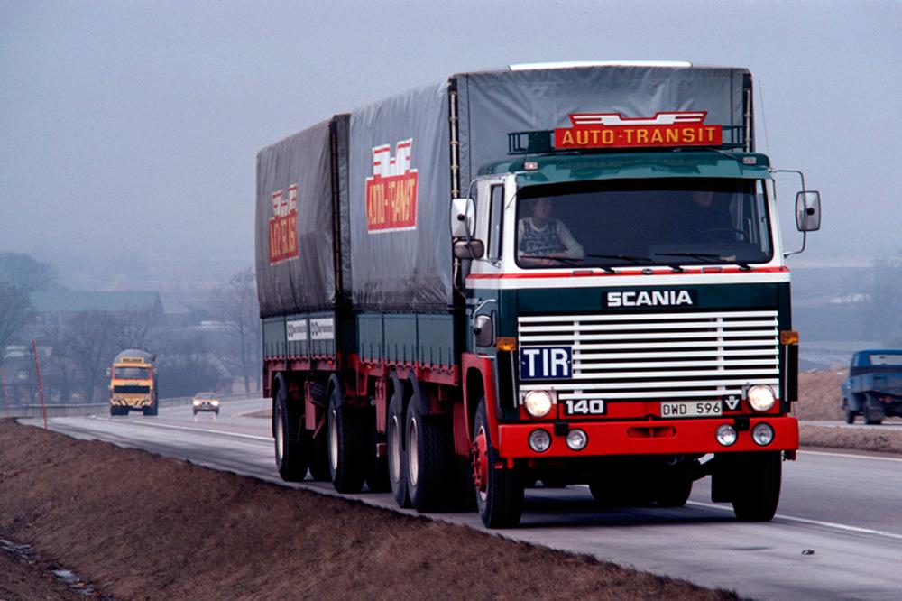 Легендарный Scania LB140 V8, 1972