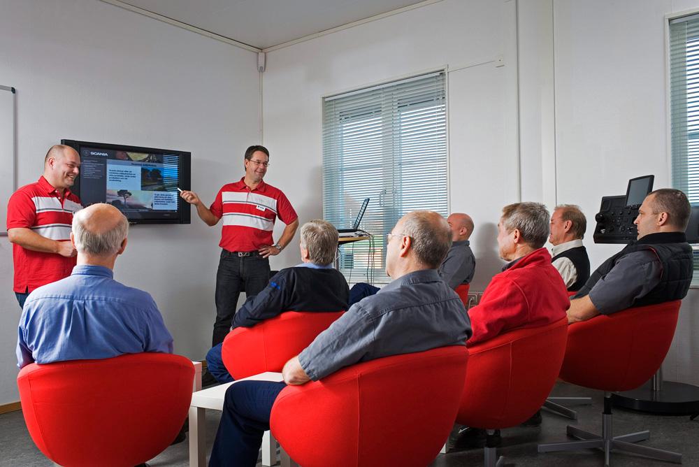 Центр повышения квалификации водителей Scania, Швеция 2007