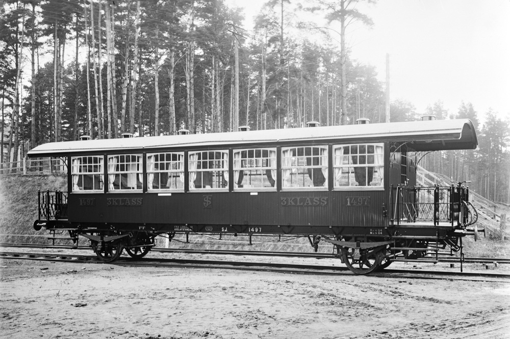 Железнодорожный вагон Vabis, 1905