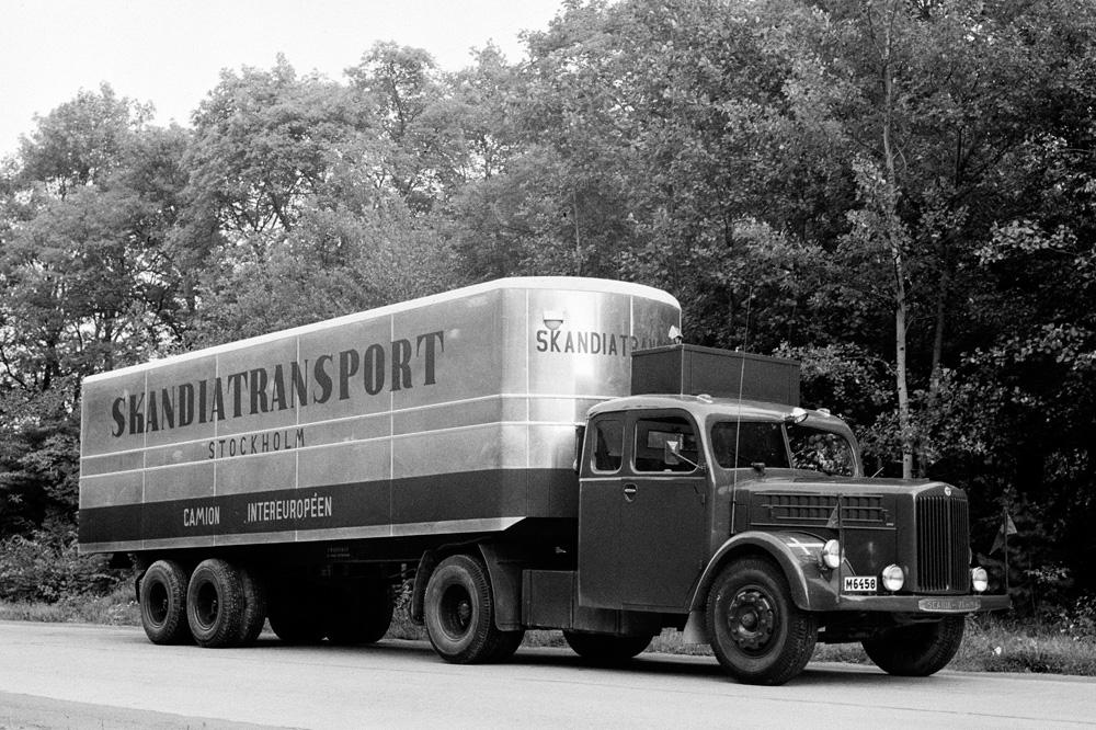 Тяжелый грузовик Scania-Vabis L21, 1949