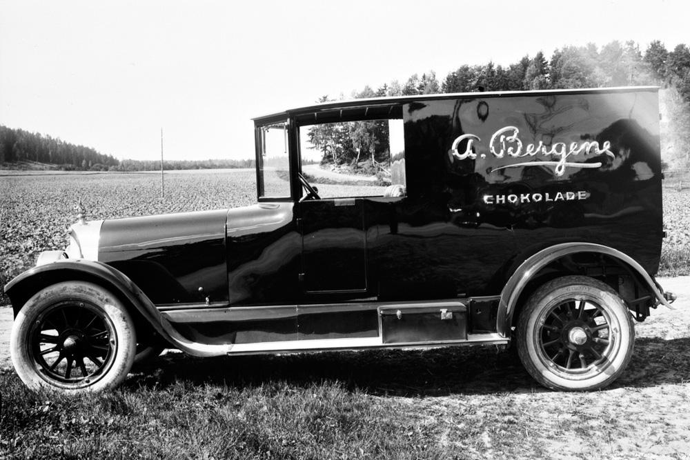 Фургон Scania-Vabis, 1920