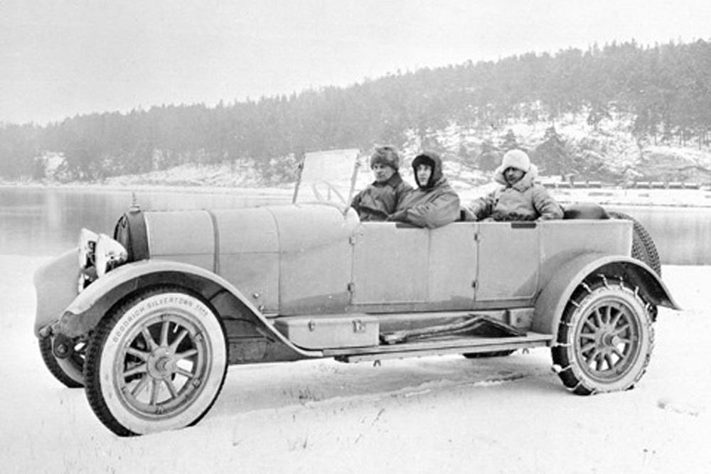 Scania-Vabis Typ IIa Phaeton, 1924