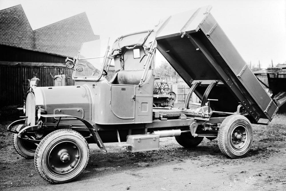 Cамосвал Scania-Vabis, 1922