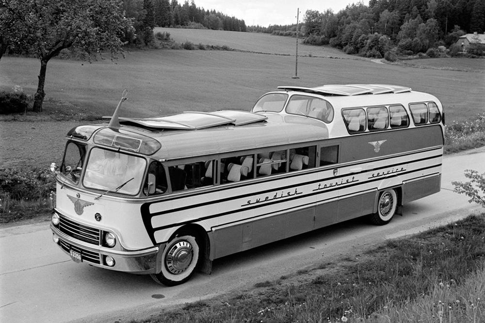 Туристический автобус Scania-Vabis b83, 1952
