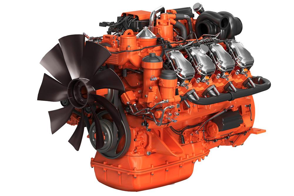Промышленный двигатель Scania DC16 V8 для генерации электроэнергии, tier 4 final Stage IV, 2012