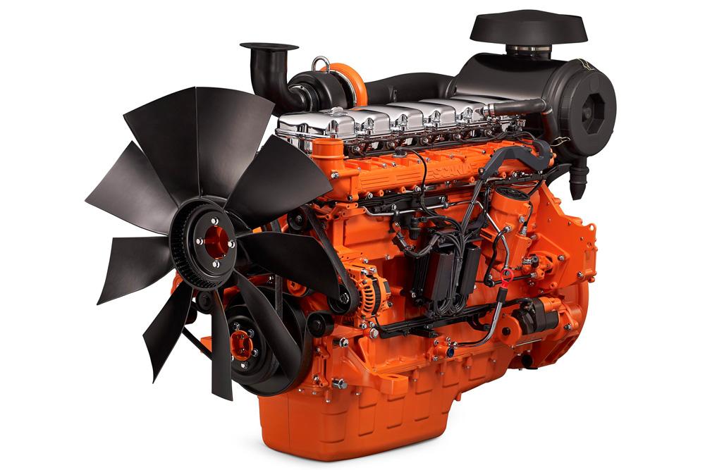 Промышленный двигатель Scania DC13 для генерации электроэнергии, 2010