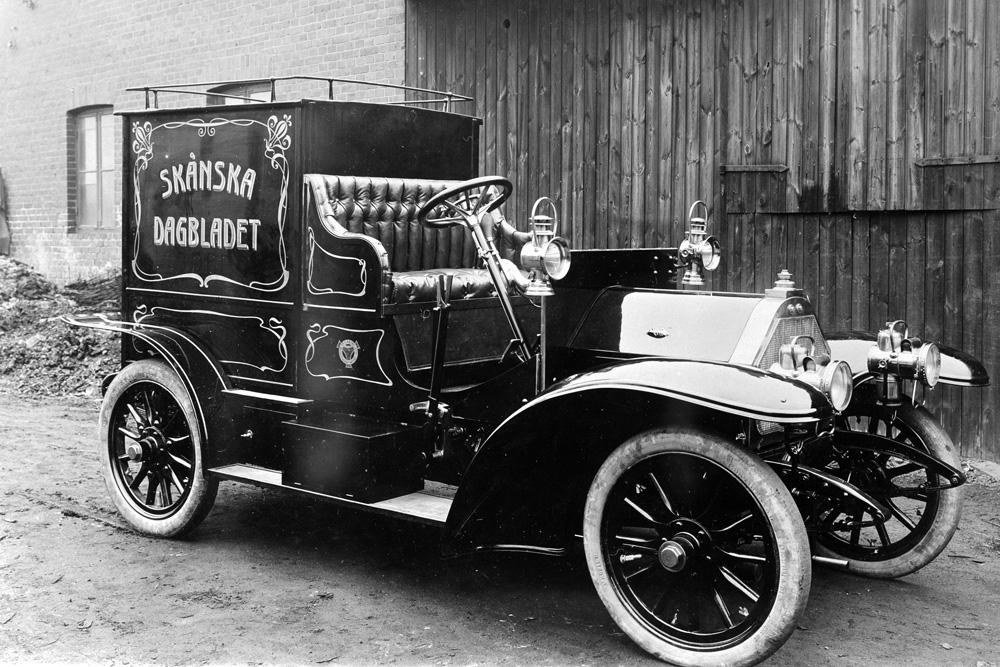Почтовый фургон Scania Typ G 12HKR, 1908
