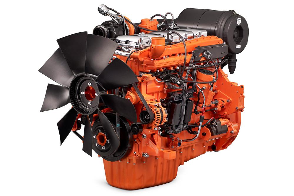 Промышленный двигатель Scania DC09 для генерации электроэнергии, 2010