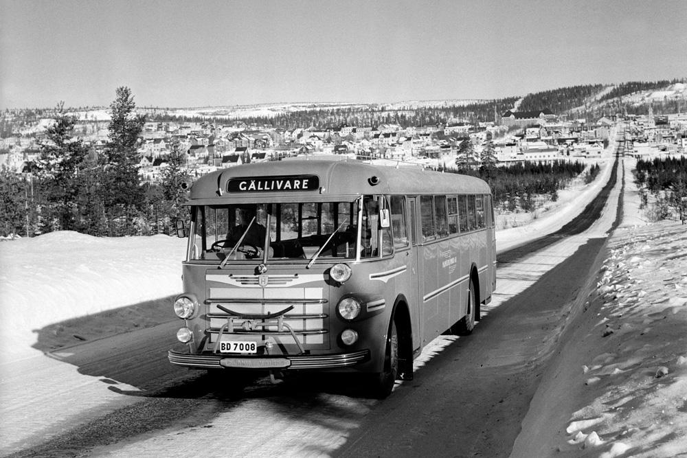 Автобус Scania-Vabis B63, 1951